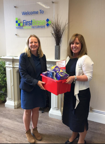 First Base continues to support the Red Box initiative